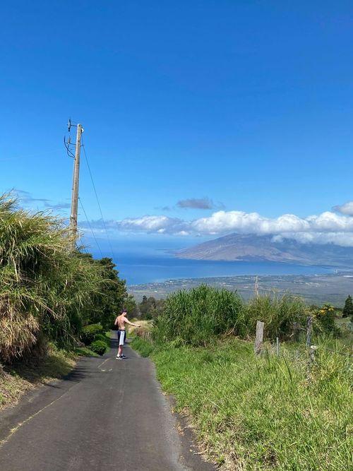 Matthias Tass Maui saarel.