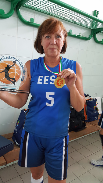 35595d65e26 Sirje Kikas MM kuldmedaliga Montecatinis. Foto: erakogu.